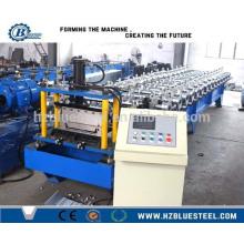 Hot Selling PLC Control Machine de formage de rouleaux de feuille de toiture de Bemo GI / Machine de formage de rouleau d'acier glacé automatique de Bemo