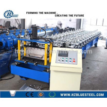 Hot Selling PLC Control Bemo GI Roofing Sheet Roll Forming Machine / Automatic Bemo Glazed Steel Roll Forming Machine