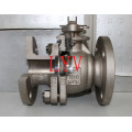 Cast Steel Flanged Trunion Ball Valve with Top Flange