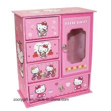 Cajas de regalo exclusivas de joyería de lujo para chicas con cajones