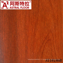 Imperméabilisez AC3, AC4, E1, plancher en stratifié de HDF de 12mm