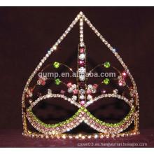 Tiara máscara de diamantes de imitación