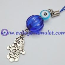 Hamsa lanterns Evil Eye beads Cell Charms Wholesale