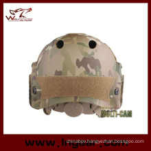 Military Safety Camouflage Helmet Tactical Navy Pj Helmet with Visor