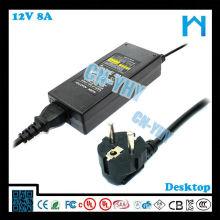220v 96w 50hz 60hz adaptateur secteur adaptateur secteur 12v avec UL / CUL CE FCC GS SAA C-TICK