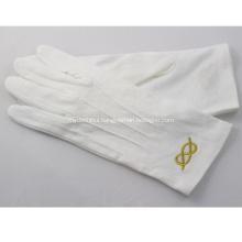 Embroidered Masonic Gloves for Freemasons