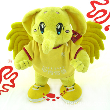 Plush Cartoon Fly Elephant Toy