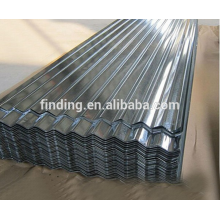 China corrugated roof sheet galvanized steel roof sheet