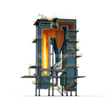 70MW DHL series coal-fired hot water boiler
