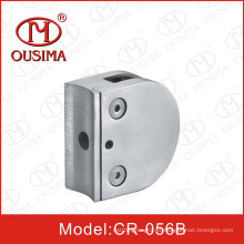 Abrazadera de cristal del acero inoxidable (CR-056B)