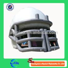 Logotipo inflável inflável nfl capacete de futebol capacete inflável