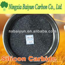 Carbure de silicium noir abrasif de dureté élevée pour la meule