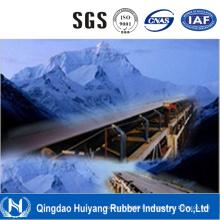Bande de conveyeur en caoutchouc de bande de conveyeur de corde d'acier en caoutchouc à froid