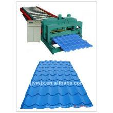 QJ popular cnc 1100 vitrificada máquina de folha de cambagem China