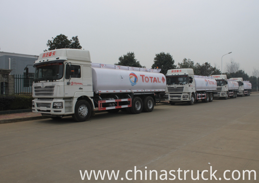 SHACMAN fuel truck 20000 liters