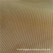 Water & Wind-Resistant Down Jacket Tejido Plaid Jacquard 34% Polyester + 66% Nylon Blend-Tejiendo la tela (H038)