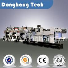 Maquinaria de impresión flexográfica multicolor de alta velocidad del logotipo