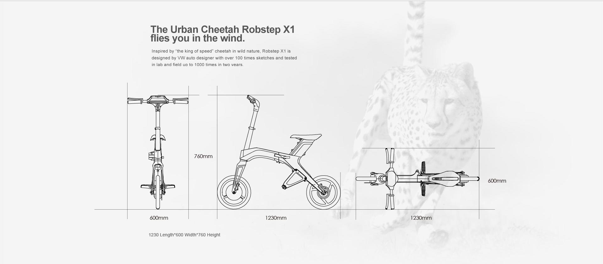 Robstep x1 electric bike