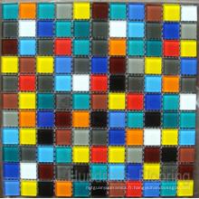 Mosaïque de verre Design de motifs Mosaïque de piscine (HSP309)