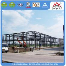 2016 nuevo producto estructura de acero prefabricados coche garaje edificio