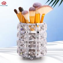 Support d'outils de maquillage en cristal de vente chaude