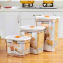 Новейшая 300 мл снимите пластиковые Jar ПЭТ пластиковых Jar для конфет