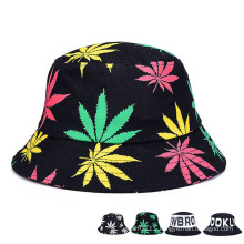 Fashion Printed Promotional Cotton Twill Leisure Bucket Hat (YKY3202)
