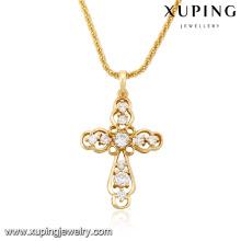 32707-high fashion jewelry 2017 18k new-designed gold chain pendant