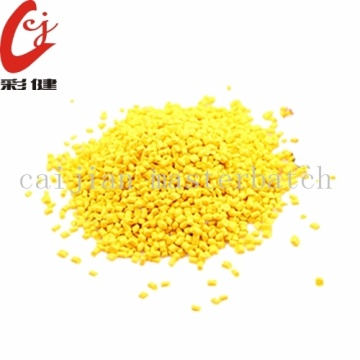 Granules Masterbatch Plastic Yellow