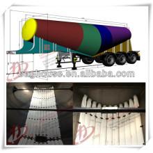 Polyester tissé type type Arislide PU tube de ventilation