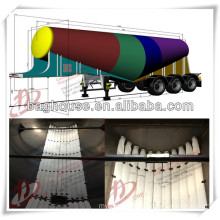 Polyester woven fabric type arislide PU ventilation pipe