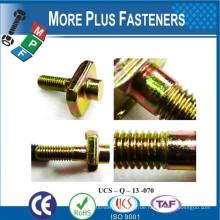 Made in Taiwan Automotive Spezial- und Standard-Verschluss Sechskant-Flansch Kopfkappe Schraubendreher Schraube