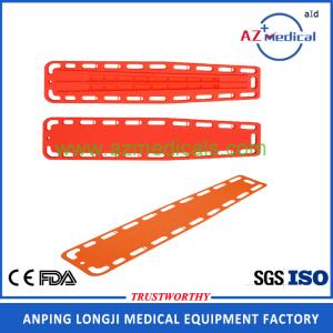 china medical emergency transportation spine board backboard