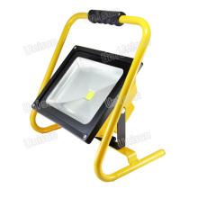 Alta potência 50W recarregável LED exterior Flood Light