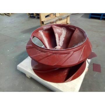 girante della pompa del fango delle parti della pompa dei residui
