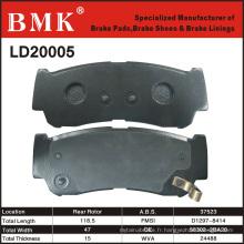Plaquettes de frein hautes performances de qualité OEM (D20005)