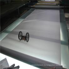 Malla de alambre de acero inoxidable con filtro de 60 micras