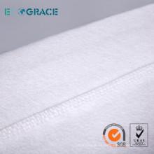 Fibra de vidrio / PTFE filtro de membrana / filtro de aguja de fieltro