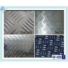 5754 Placa de rodadura de chapa de aluminio