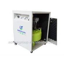 Compressor de ar livre de óleo silencioso para laboratório dental