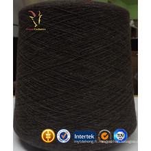 Filés de laine de cachemire bio en laine épaisse