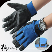 SRSAFETY leather safety hand gloves/motorcycle gloves leather