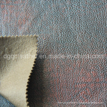 Fashion Design Breathable PU Furniture Leather (QDL-FB0062)