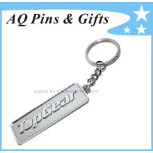 Bronze Key Chain in Nickel Plating