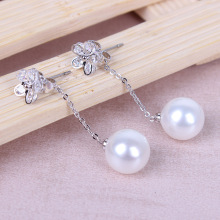 Anting-anting drop borong mutiara