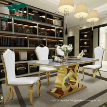New Design Stainless Steel Furniture Wholesale Restaurant Table Leg Metal Dining Table