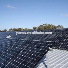 Aplicación comercial Panel solar Estructura Montaje en panel solar