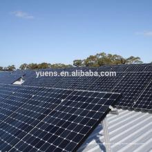 Application commerciale Panneau solaire Structure de panneau solaire
