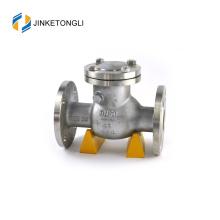 JKTLPC104 válvula de retención cargada con brida de acero forjado horizontal