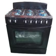 Fogão a gás Western Kitchen Appliances em aço inoxidável
